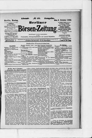 Berliner Börsen-Zeitung vom 06.10.1902