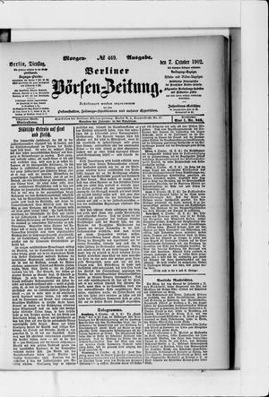 Berliner Börsen-Zeitung vom 07.10.1902