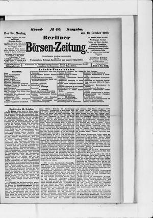 Berliner Börsen-Zeitung vom 13.10.1902
