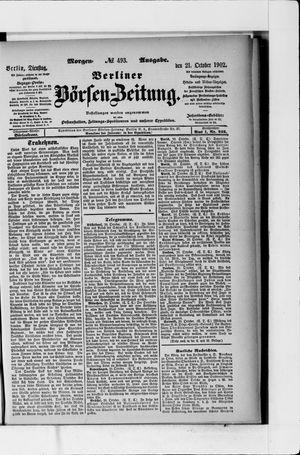 Berliner Börsen-Zeitung vom 21.10.1902