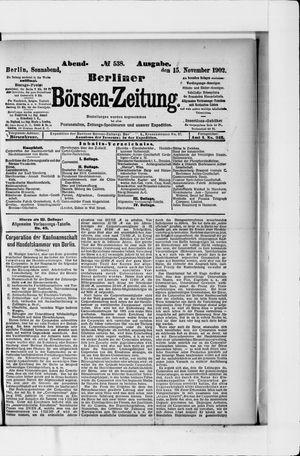 Berliner Börsen-Zeitung vom 15.11.1902