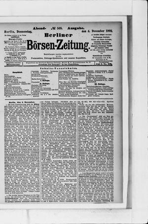 Berliner Börsen-Zeitung vom 04.12.1902