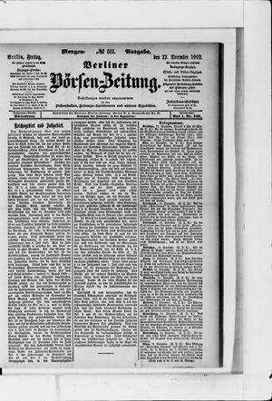 Berliner Börsen-Zeitung vom 12.12.1902