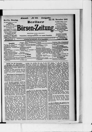 Berliner Börsen-Zeitung vom 23.12.1902