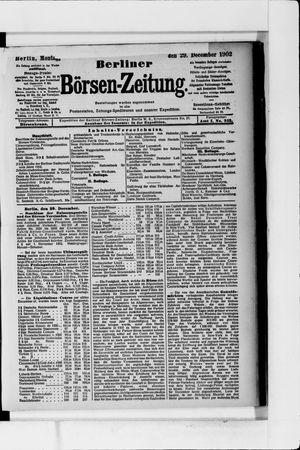 Berliner Börsen-Zeitung vom 29.12.1902