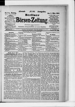Berliner Börsen-Zeitung vom 02.03.1903