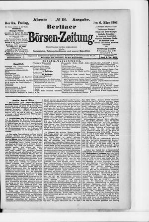 Berliner Börsen-Zeitung vom 06.03.1903