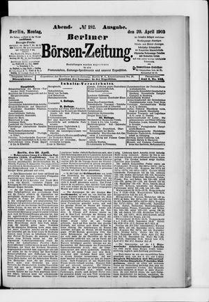 Berliner Börsen-Zeitung vom 20.04.1903