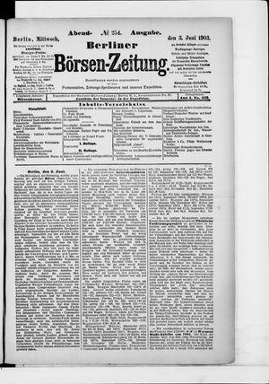 Berliner Börsen-Zeitung on Jun 3, 1903