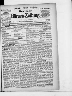 Berliner Börsen-Zeitung vom 08.06.1903