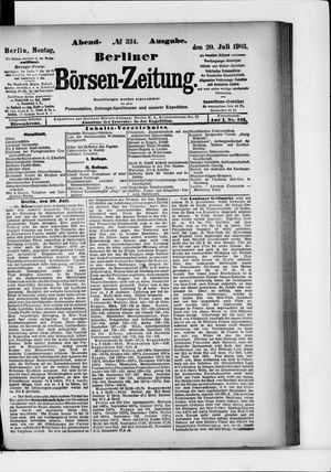 Berliner Börsen-Zeitung vom 20.07.1903