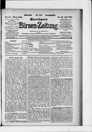Berliner Börsen-Zeitung vom 23.07.1903