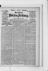 Berliner Börsen-Zeitung (14.12.1904)