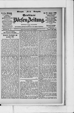 Berliner Börsen-Zeitung vom 10.01.1906