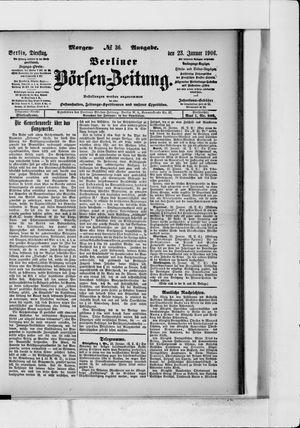 Berliner Börsen-Zeitung vom 23.01.1906