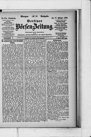 Berliner Börsen-Zeitung vom 17.02.1906
