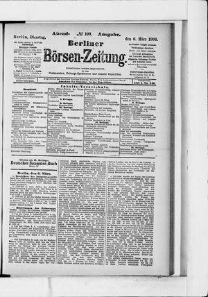 Berliner Börsen-Zeitung vom 06.03.1906