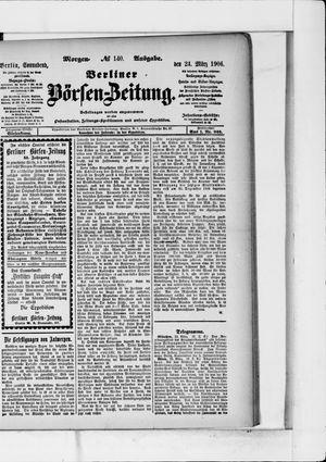 Berliner Börsen-Zeitung vom 24.03.1906