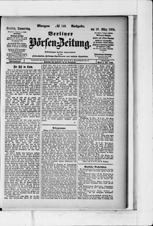 Berliner Börsen-Zeitung vom 29.03.1906