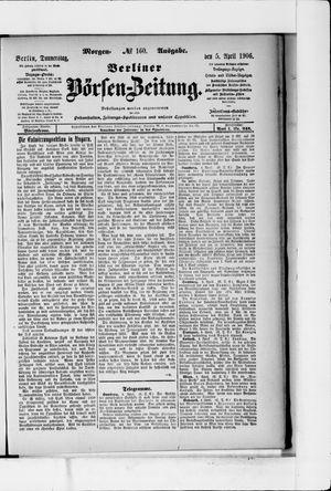 Berliner Börsen-Zeitung vom 05.04.1906