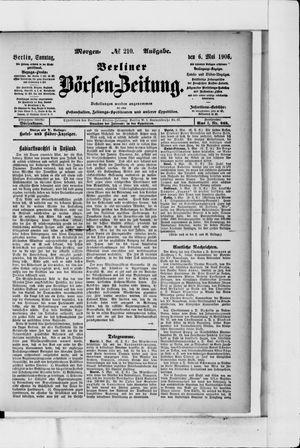Berliner Börsen-Zeitung vom 06.05.1906