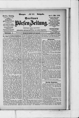 Berliner Börsen-Zeitung on May 8, 1906