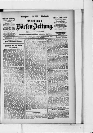 Berliner Börsen-Zeitung vom 13.05.1906