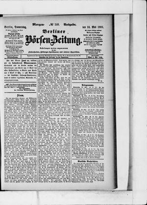 Berliner Börsen-Zeitung vom 24.05.1906