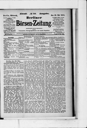 Berliner Börsen-Zeitung on May 30, 1906