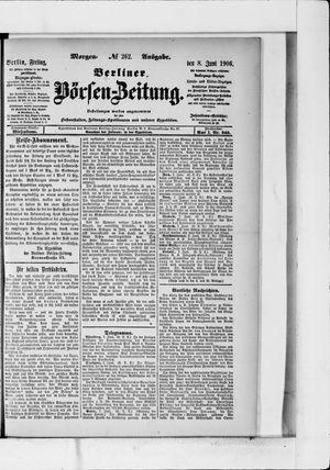 Berliner Börsen-Zeitung vom 08.06.1906