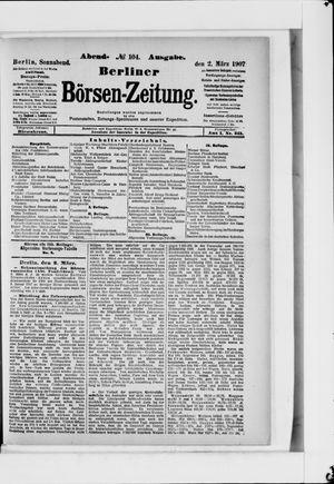 Berliner Börsen-Zeitung vom 02.03.1907