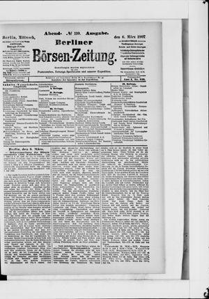 Berliner Börsen-Zeitung vom 06.03.1907