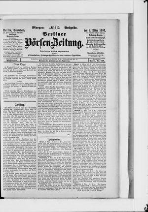 Berliner Börsen-Zeitung on Mar 9, 1907