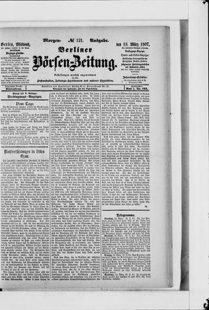 Berliner Börsen-Zeitung vom 13.03.1907
