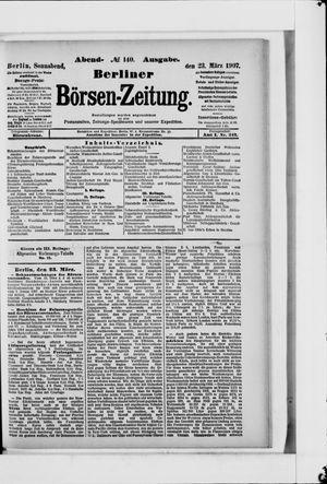 Berliner Börsen-Zeitung vom 23.03.1907
