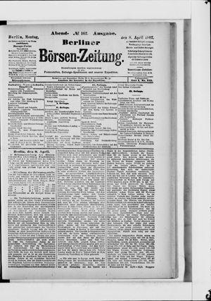 Berliner Börsen-Zeitung vom 08.04.1907