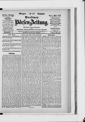 Berliner Börsen-Zeitung vom 09.04.1907
