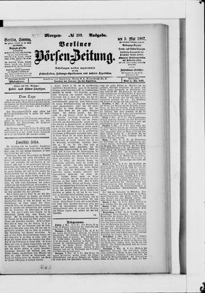 Berliner Börsen-Zeitung vom 05.05.1907
