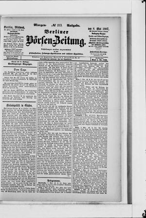 Berliner Börsen-Zeitung vom 08.05.1907