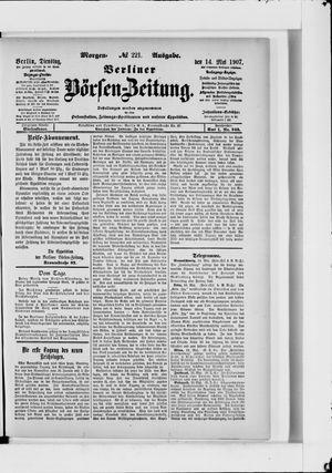 Berliner Börsen-Zeitung vom 14.05.1907
