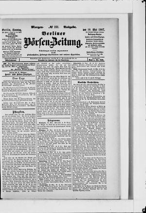 Berliner Börsen-Zeitung vom 19.05.1907