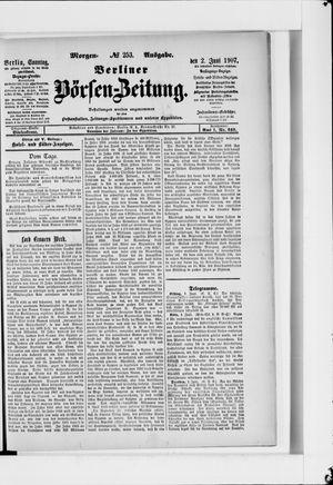Berliner Börsen-Zeitung vom 02.06.1907