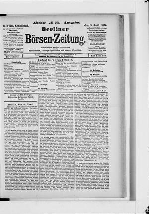 Berliner Börsen-Zeitung vom 08.06.1907