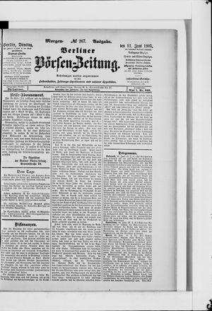 Berliner Börsen-Zeitung vom 11.06.1907