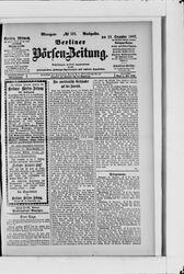 Berliner Börsen-Zeitung (18.12.1907)