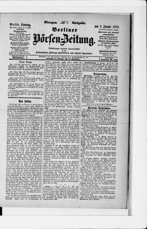 Berliner Börsen-Zeitung vom 05.01.1913