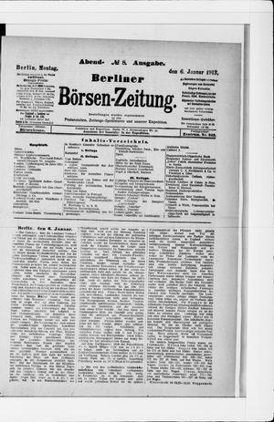 Berliner Börsen-Zeitung vom 06.01.1913