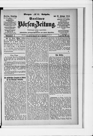 Berliner Börsen-Zeitung vom 25.02.1913
