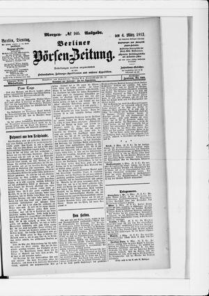Berliner Börsen-Zeitung vom 04.03.1913