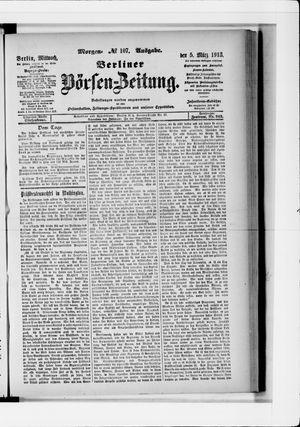 Berliner Börsen-Zeitung vom 05.03.1913